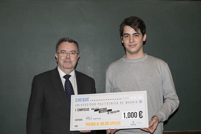 Luis Gascó premiado en la II Edición del simposio de doctorado de la UPM