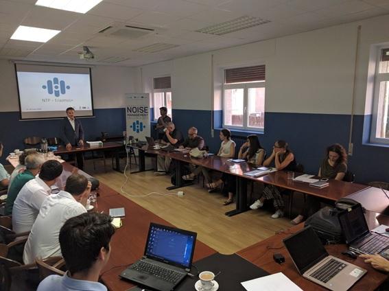 Primera actividad formativa del proyecto NTP Erasmus+