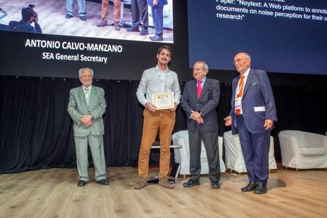 Luis Gascó recibió el Premio Luis de Camoens UC3M