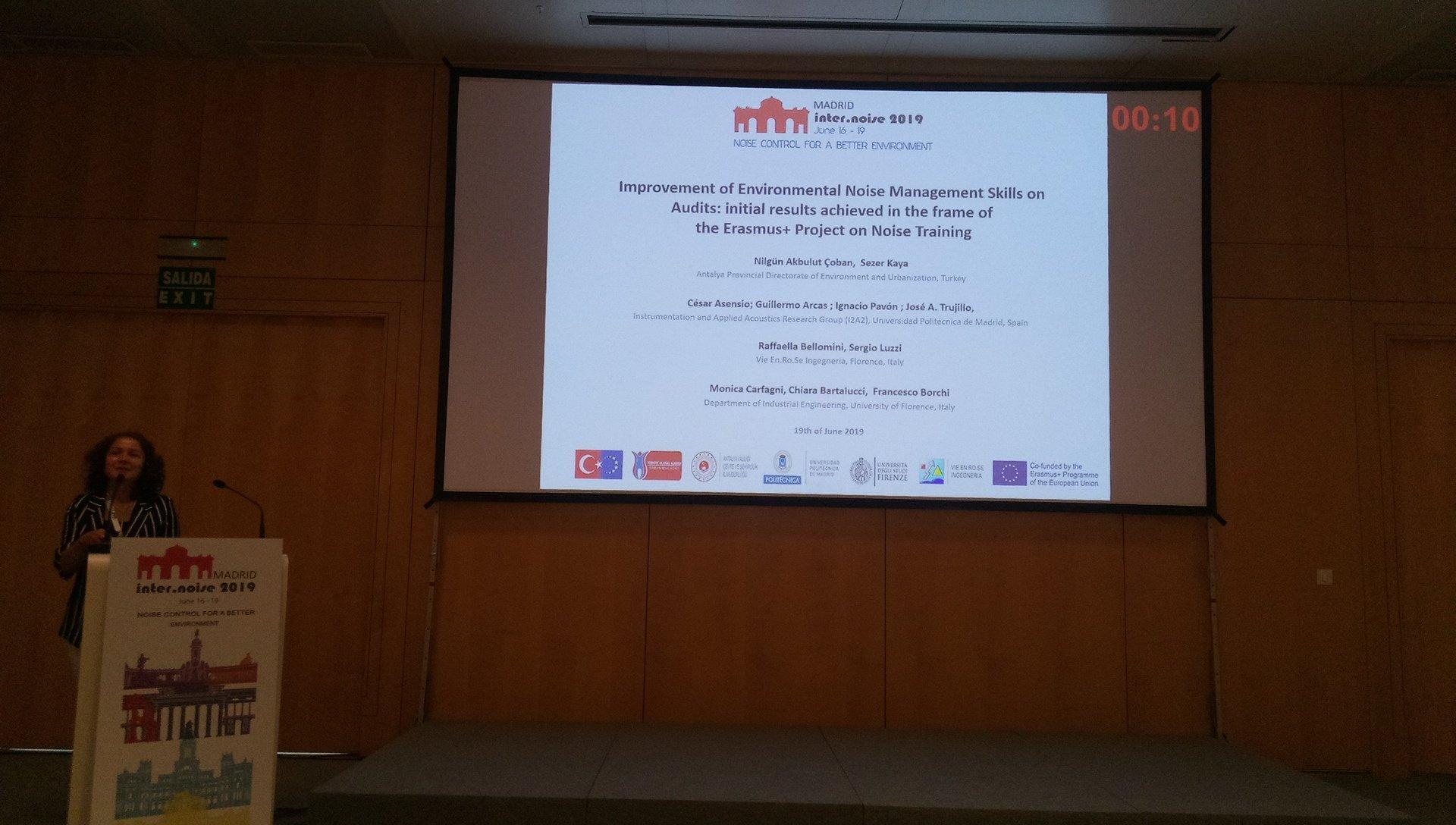 Presentación de Ningün, investigadora del proyecto NTP+ del que forma parte el Grupo I2A2